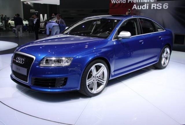Audi RS6 - La Moscova, se dau in vant dupa sedan!