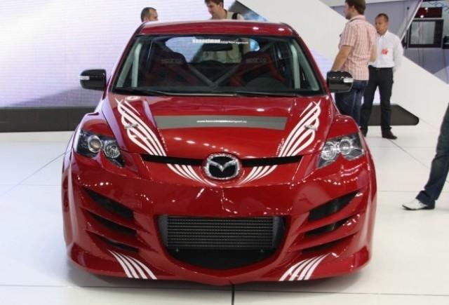 Mazda Cx-7 - Atingerea Kesselman!