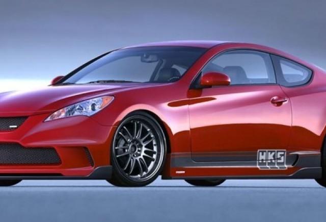 Hyundai Genesis - Rafinarea in stil HKS!