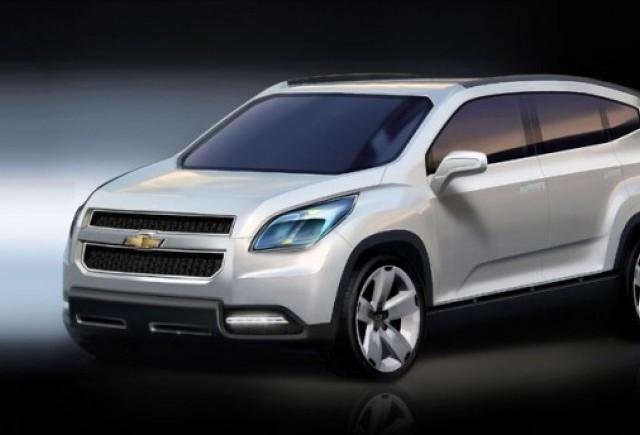 Chevrolet Orlando - Un alt concurent pe scena pariziana!