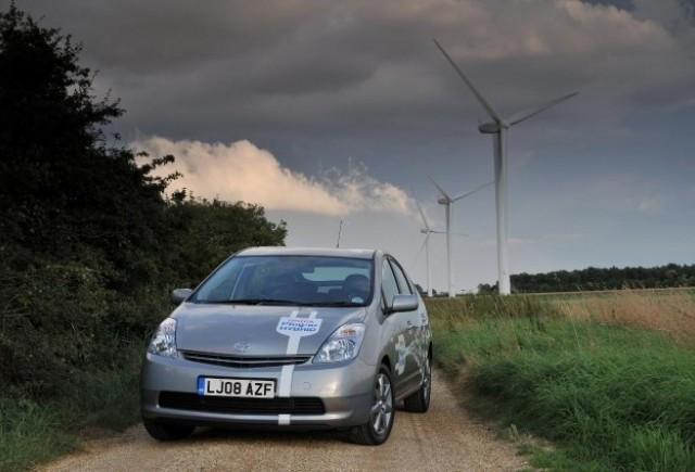 Toyota Prius - EDF face primul pas