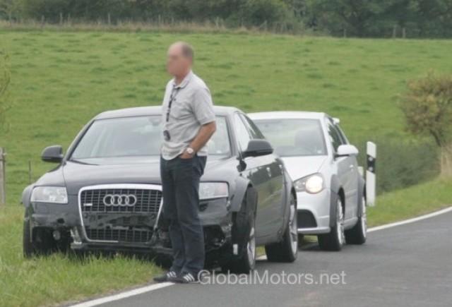 Audi A7 - Gratie unui impact...