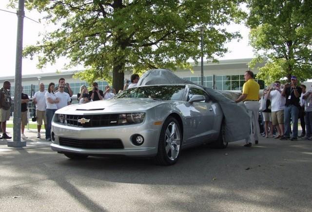 Chevrolet Camaro SS - O prima ocazie de a-l admira