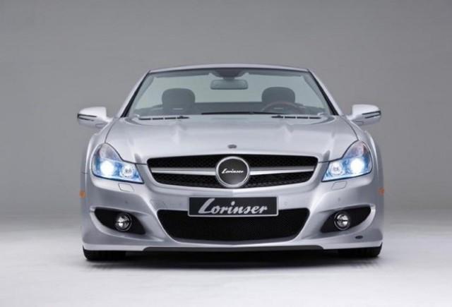 Mercedes SL - Un nou punct de vedere, de la Lorinser!