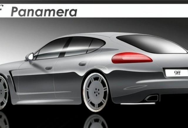 Porsche Panamera 9ff - Un nou model, un nou pachet de performanta!