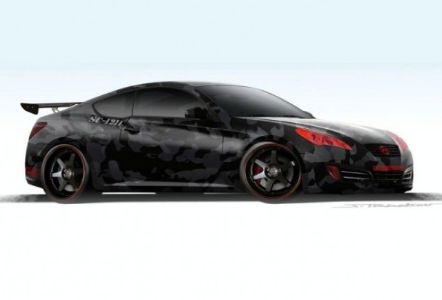 Hyundai Genesis - Visul oricarui tuner!