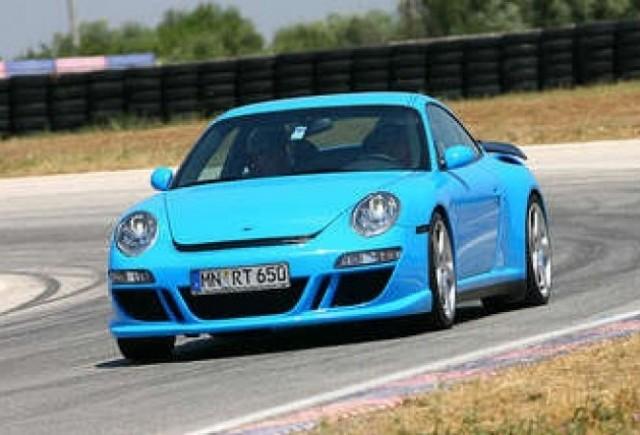 Porsche Cayman - Luand ruta electrica via RUF!