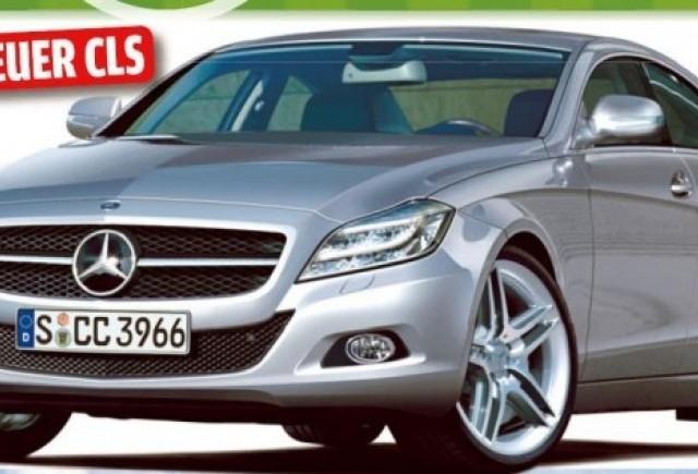 2011 Mercedes CLS - Reperat de pe acum