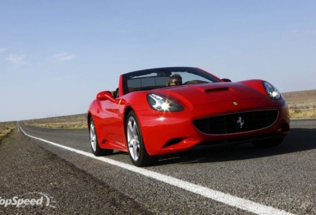 Ferrari California vandut pe urmatorii 2 ani