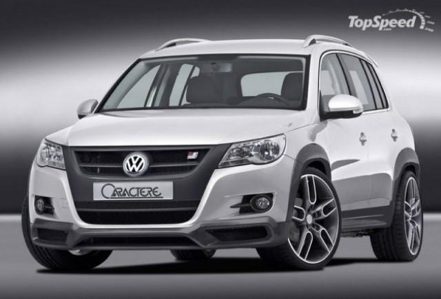 Volkswagen Tiguan tunat de Caractere