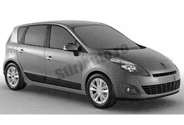 Primele imagini cu noul Renault Scenic