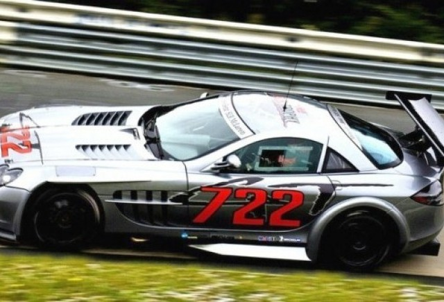 Mercedes SLR 722 GT intalneste pe Bruno Senna!