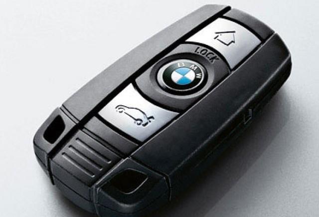 BMW smartkey, cheia cu care pot fi efectuate plati!