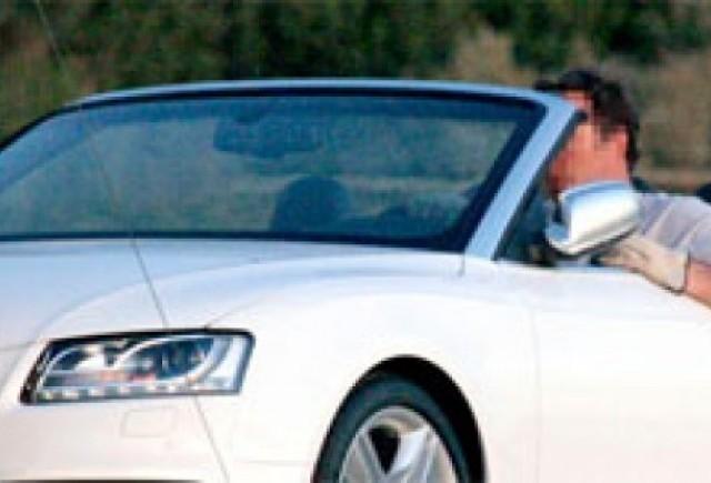 Audi S5 Cabrio - O sedinta foto insorita!
