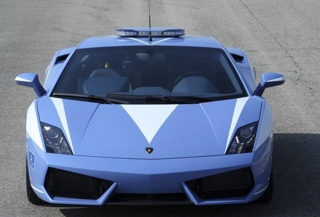 Lamborghini Gallardo LP560-4 Polizia - Un cadou pentru fortele legii