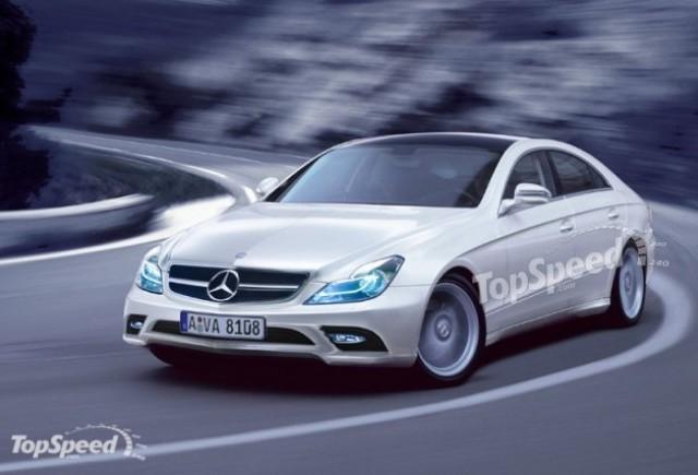 Asa va arata viitorul Mercedes CLS?