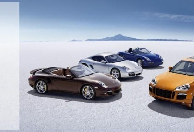 Porsche - Campania de cucerire continua!