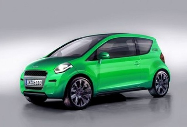 Audi - Miniona verde