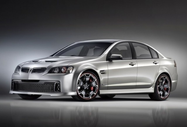 Pontiac G8 GXP Street Concept - Fantezie materializata