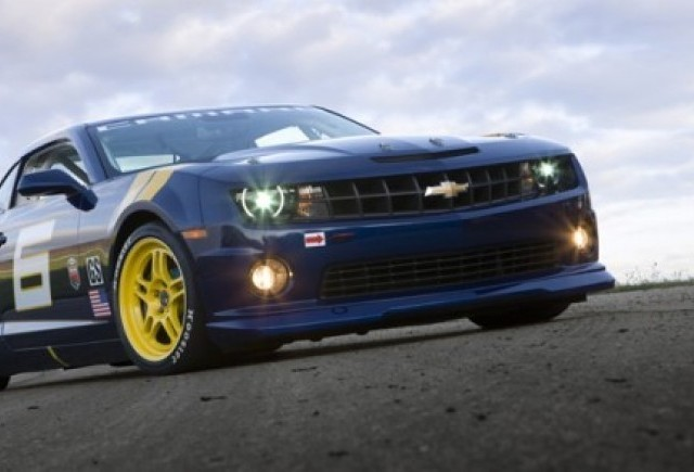 Chevrolet Camaro GS Racecar Concept - Trei e cu noroc?