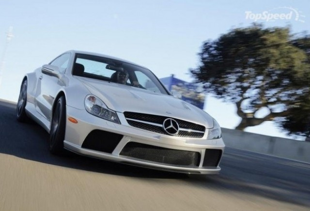 2009 Mercedes SL 65 AMG Black Series