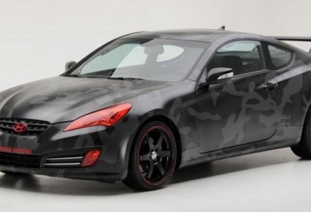 Hyundai Genesis Coupe - O surpriza marca Street Concepts