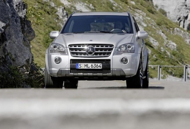 Mercedes ML 63 AMG - Ceva special de aniversare