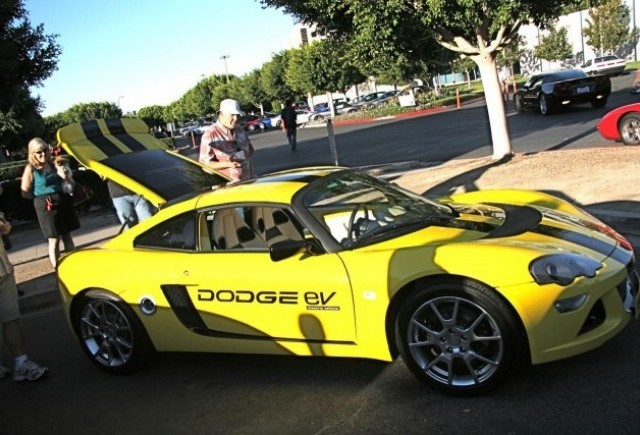 Dodge EV - Aparitie in public