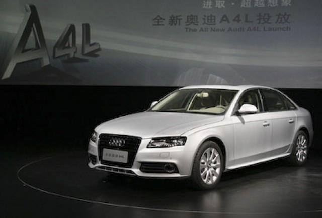 Audi A4L - Patrundere pe taramul chinez...