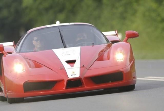 Ferrari FXX - De pe pista pe sosele!