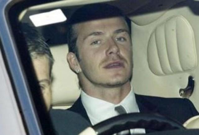 David Beckham, pasiune pentru masini