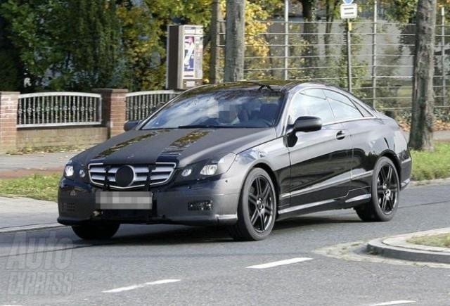 Premiera: Mercedes CLK undercover!!!