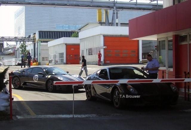 Ferrari 599 GTB Fiorano - O priveliste rara!
