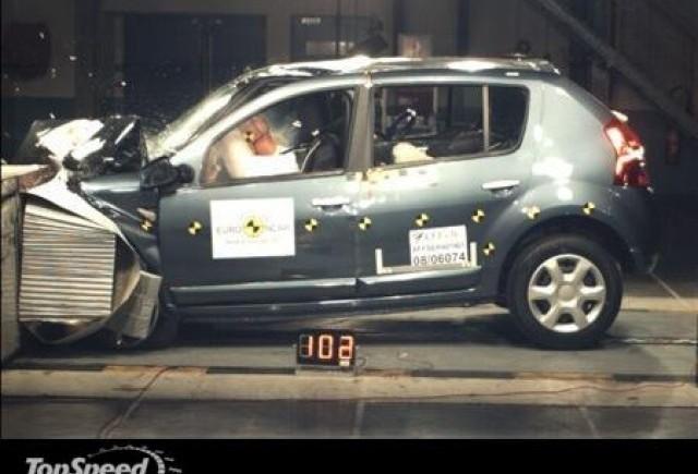 Trei stele EuroNCAP pentru Dacia Sandero