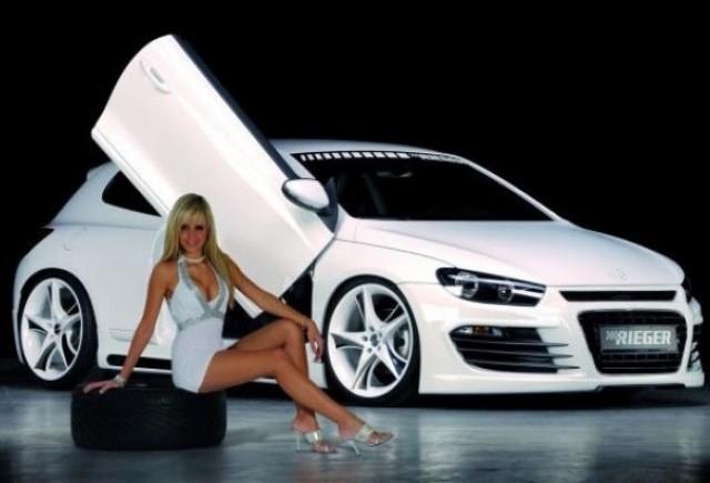 Essen 2008 Volkswagen Scirocco tunat de Rieger Tuning