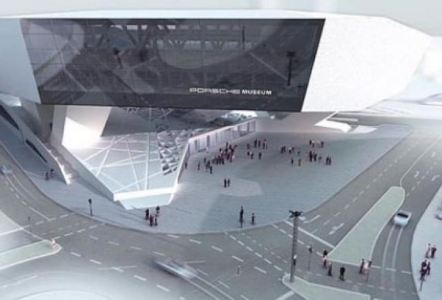 Noul muzeu Porsche se va deschide pe 31 ianuarie 2009