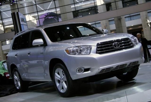 Toyota Highlander - Un nou membru al liniei!
