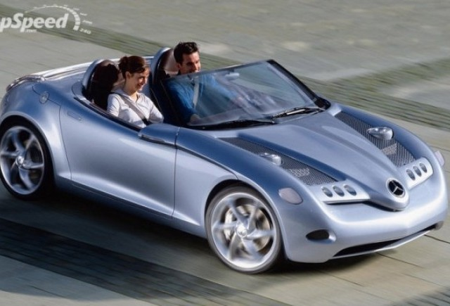 Mercedes considera un roadster bazat pe clasa A