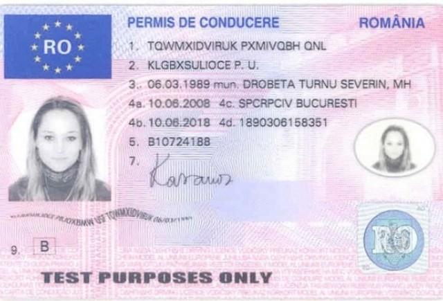 Noile permise de conducere si certificate de inmatriculare, eliberate de marti in toate judetele