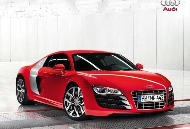 Audi R8 V10 - o noua galerie de imagini