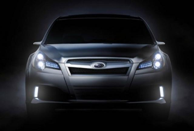 Subaru Legacy apare din intuneric pentru a-ti lumina calea!