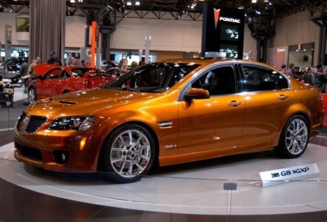 Pontiac stabileste pretul G8 GXP 2009 de la 39.995 dolari
