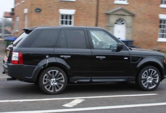 Range Rover Sport Facelift vazut in Marea Britanie