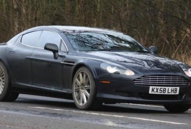 Aston Martin Rapide vazut din nou!