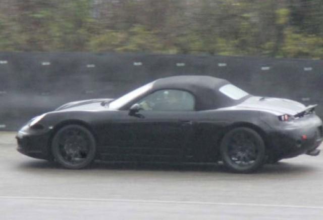 Porsche pregateste un motor diesel pentru Boxster
