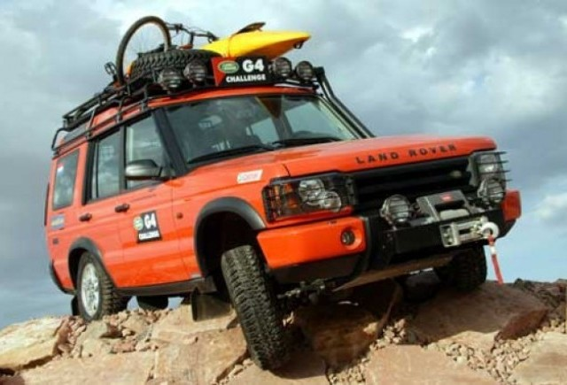 Land Rover renunta la G4 Challenge