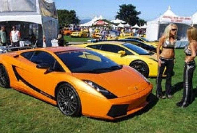 Lamborghini o duce bine!