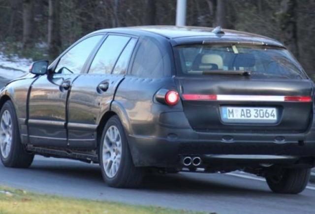 BMW Seria 5 Touring vazut pe strada!