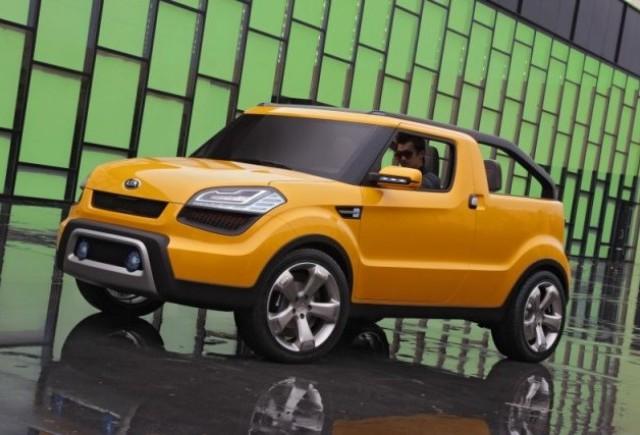 Kia Motors expune conceptul Soul'ster la North American International Auto Show (NAIAS) 2009