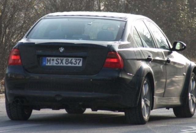 Dovada ca BMW lucreaza deja la o noua versiunea de Seria 3!